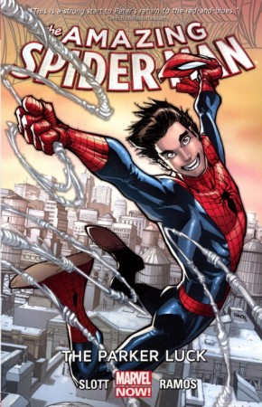 AMAZING SPIDER-MAN VOLUME 1 THE PARKER LUCK GRAPHIC NOVEL