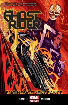 ALL-NEW GHOST RIDER VOLUME 1 ENGINES OF VENGEANCE GRAPHIC NOVEL
