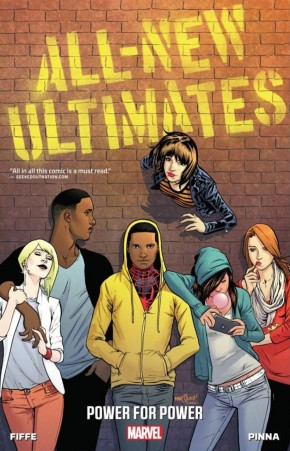 ALL NEW ULTIMATES VOLUME 1 POWER FOR POWER GRAPHIC NOVEL