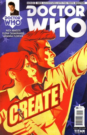 DOCTOR WHO 10TH DOCTOR #5 (2014 SERIES)