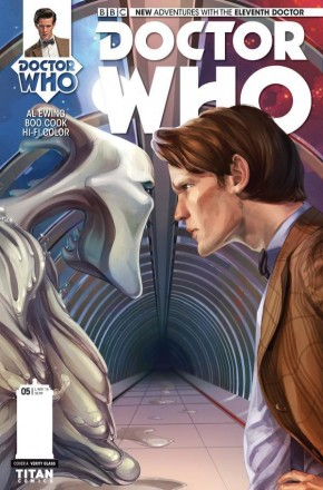 DOCTOR WHO 11TH DOCTOR #5 (2014 SERIES)