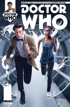 DOCTOR WHO 11TH DOCTOR #5 (2014 SERIES) SUBSCRIPTION VARIANT