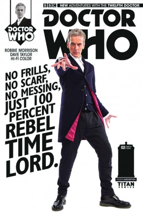 DOCTOR WHO 12TH DOCTOR #1 SUBSCRIPTION VARIANT