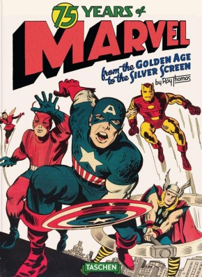 75 YEARS OF MARVEL GOLDEN AGE TO SILVER SCREEN OVERSIZED HARDCOVER