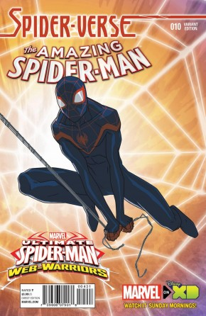 AMAZING SPIDER-MAN #10 (2014 SERIES) MARVEL ANIMATION 1 IN 10 INCENTIVE