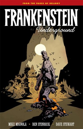 FRANKENSTEIN UNDERGROUND GRAPHIC NOVEL