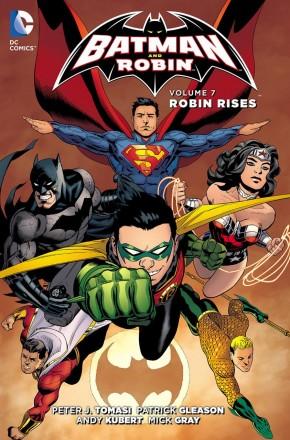 BATMAN AND ROBIN VOLUME 7 ROBIN RISES HARDCOVER