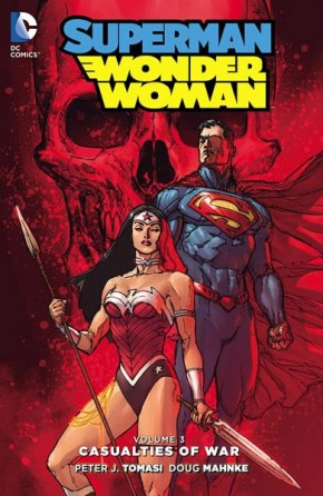 SUPERMAN WONDER WOMAN VOLUME 3 CASUALTIES OF WAR HARDCOVER