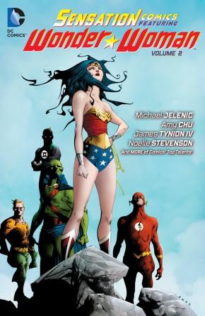 SENSATION COMICS FEATURING WONDER WOMAN VOLUME 2 GRAPHIC NOVEL