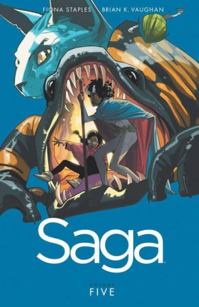 SAGA VOLUME 5 GRAPHIC NOVEL