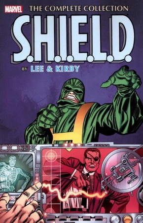 SHIELD BY LEE AND KIRBY COMPLETE COLLECTION GRAPHIC NOVEL