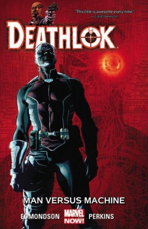 DEATHLOK VOLUME 2 MAN VERSUS MACHINE GRAPHIC NOVEL