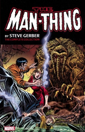 MAN-THING BY STEVE GERBER COMPLETE COLLECTION VOLUME 1 GRAPHIC NOVEL