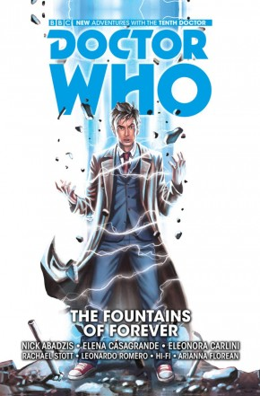 DOCTOR WHO 10TH DOCTOR VOLUME 3 FOUNTAINS OF FOREVER HARDCOVER