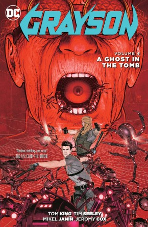 GRAYSON VOLUME 4 A GHOST IN THE TOMB GRAPHIC NOVEL