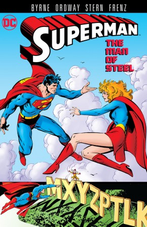 SUPERMAN THE MAN OF STEEL VOLUME 9 GRAPHIC NOVEL