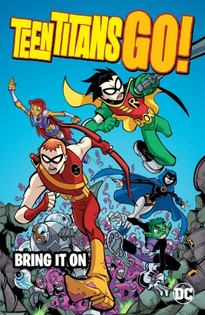 TEEN TITANS GO BRING IT ON GRAPHIC NOVEL
