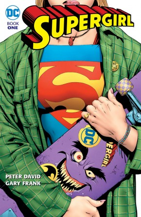 SUPERGIRL BY PETER DAVID BOOK 1 GRAPHIC NOVEL