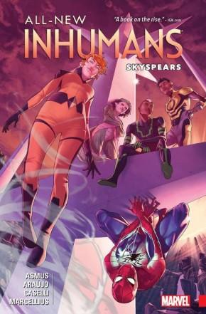 ALL NEW INHUMANS VOLUME 2 SKYSPEARS GRAPHIC NOVEL