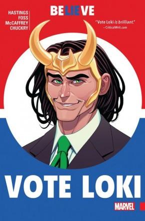 VOTE LOKI GRAPHIC NOVEL