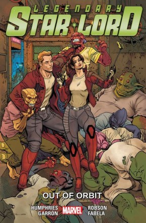 LEGENDARY STAR-LORD VOLUME 4 OUT OF ORBIT GRAPHIC NOVEL