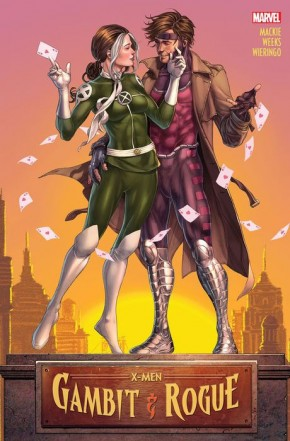 X-MEN GAMBIT AND ROGUE GRAPHIC NOVEL