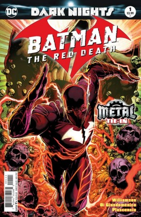 BATMAN THE RED DEATH #1 FOIL COVER