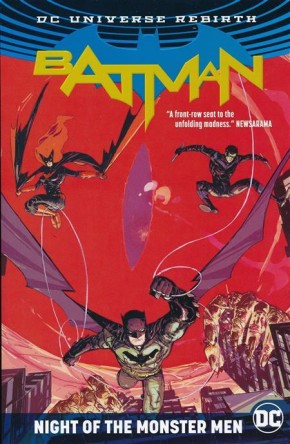 BATMAN NIGHT OF THE MONSTER MEN GRAPHIC NOVEL
