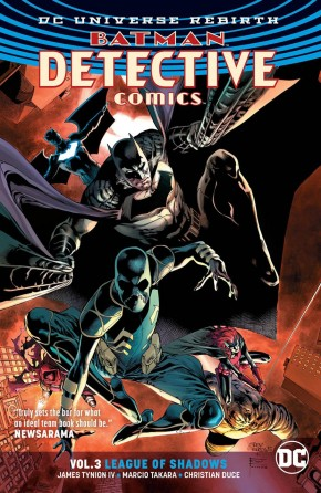 BATMAN DETECTIVE COMICS VOLUME 3 LEAGUE GRAPHIC NOVEL