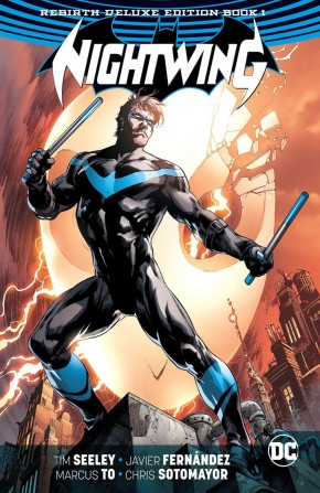 NIGHTWING REBIRTH DELUXE COLLECTION BOOK 1 HARDCOVER