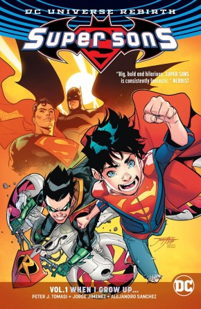 SUPER SONS VOLUME 1 WHEN I GROW UP GRAPHIC NOVEL