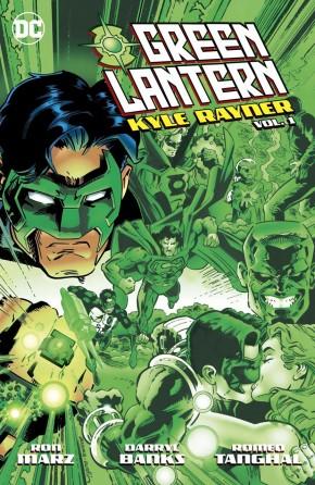 GREEN LANTERN KYLE RAYNER VOLUME 1 GRAPHIC NOVEL