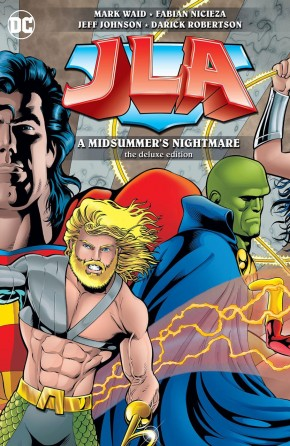 JUSTICE LEAGUE OF AMERICA MIDSUMMERS NIGHTMARE DELUXE HARDCOVER