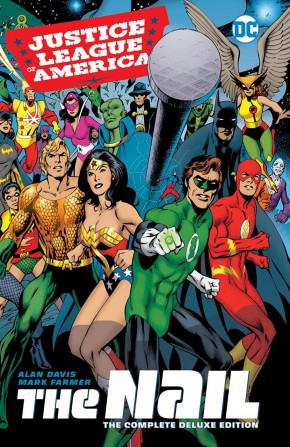 JLA THE NAIL ANOTHER NAIL DELUXE EDITION HARDCOVER