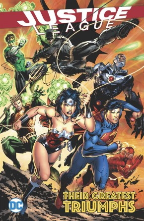 JUSTICE LEAGUE THEIR GREATEST TRIUMPHS GRAPHIC NOVEL
