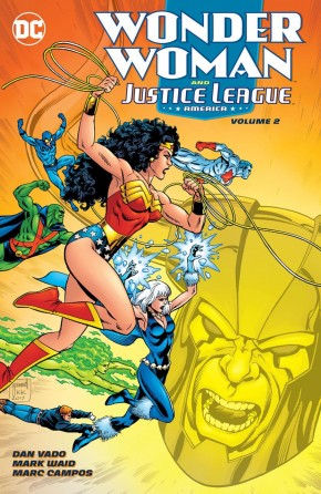 WONDER WOMAN AND THE JUSTICE LEAGUE AMERICA VOLUME 2 GRAPHIC NOVEL