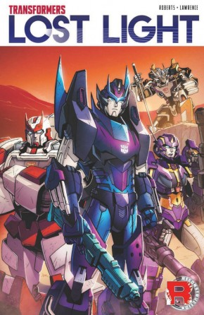 TRANSFORMERS LOST LIGHT VOLUME 1 GRAPHIC NOVEL