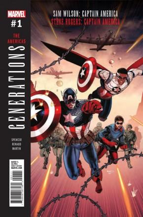 GENERATIONS SAM WILSON: CAPTAIN AMERICA STEVE ROGERS: CAPTAIN AMERICA #1