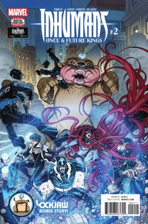 INHUMANS ONCE FUTURE KINGS #2
