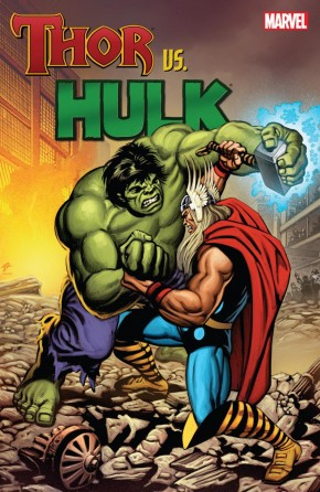 THOR VS HULK GRAPHIC NOVEL