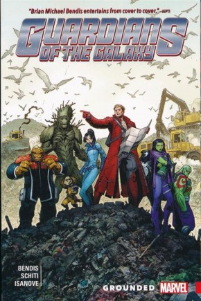 GUARDIANS OF THE GALAXY NEW GUARD VOLUME 4 GROUNDED GRAPHIC NOVEL