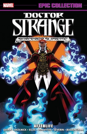 DOCTOR STRANGE EPIC COLLECTION AFTERLIFE GRAPHIC NOVEL