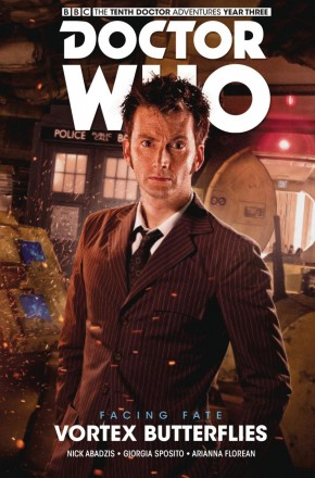 DOCTOR WHO 10TH DOCTOR FACING FATE VOLUME 2 VORTEX BUTTERFLIES HARDCOVER