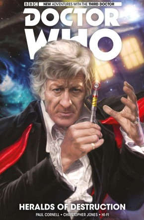 DOCTOR WHO 3RD DOCTOR VOLUME 1 HERALDS OF DESTRUCTION GRAPHIC NOVEL