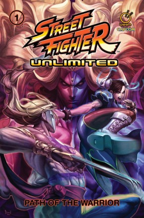 STREET FIGHTER UNLIMITED VOLUME 1 PATH OF THE WARRIOR GRAPHIC NOVEL
