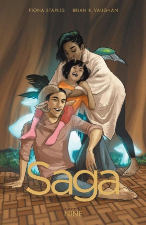 SAGA VOLUME 9 GRAPHIC NOVEL