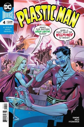 PLASTIC MAN #4 (2018 SERIES)