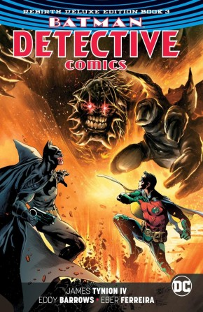 BATMAN DETECTIVE COMICS REBIRTH DELUXE COLLECTION BOOK 3 HARDCOVER