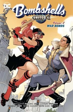 BOMBSHELLS UNITED VOLUME 2 WAR BONDS GRAPHIC NOVEL