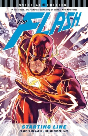 FLASH STARTING LINE ESSENTIAL EDITION GRAPHIC NOVEL